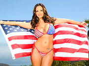 God bless America, the home of many sexy sluts, including the gorgeous goddess, Ava Addams. ...
