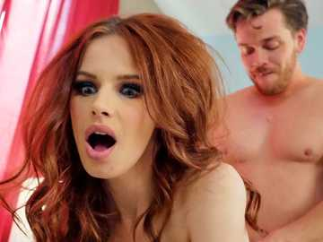 Redhead Jillian Janson was looking for the biggest dick and Kyle gave it to her