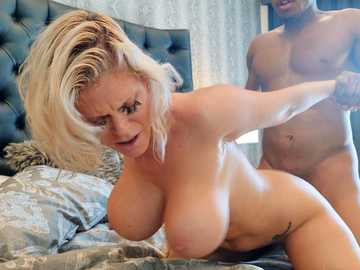 Black fellow brings white MILF Casca Akashova the desired sexual sensations