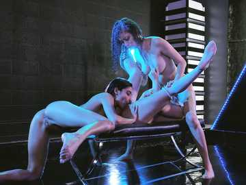 Emily Willis, Scarlett Bloom and Liv Wild: Color Me Horny