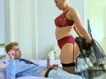 MILF Ryan Keely and her son's best friend in a great fuck