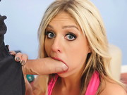 Yoga enthusiast Madelyn Monroe loves a good stretching. Luckily for her, Danny D is blessed ...