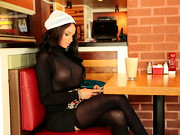 We were hanging out with Raven Bay and she insisted on getting some Mexican food for some ...