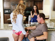 Ariellas stepson Jessy is back from college which is a perfect opportunity for Ariellas cougar ...