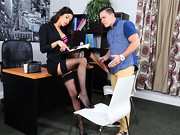 Veronica Rodriguez has her employee come in on a weekend. He thinks he's in trouble, but ...