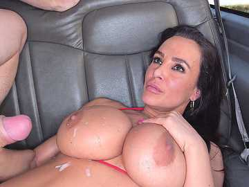 Lisa Ann is a horny MILF on the BangBus