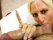 Twenty-three-year-old White Angel is a tall, slender blonde dancer from Hungary. This sexy, ...