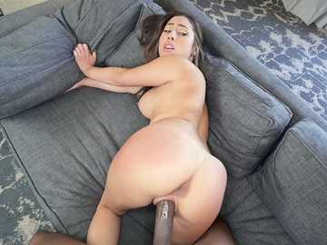 Young trollop Kira Perez experiences a big black cock in BangBros video