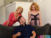 Danny Mountain is very shy around the ladies. When his mom invites her friend Alexis Fawx ...