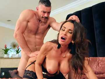 Cheater Charles has only one chance to satisfy all sexual needs of wife Lisa Ann