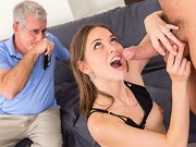 A nymphos husband is aware of his wife cheating on him after his suspicions are confirmed ...