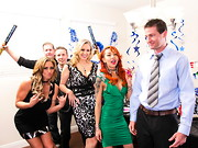 Julia Ann is hosting one of her famous New Year's party when she starts getting a little ...